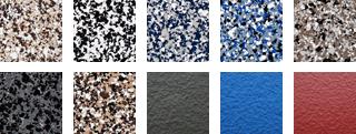 Exemples de choix de couleurs