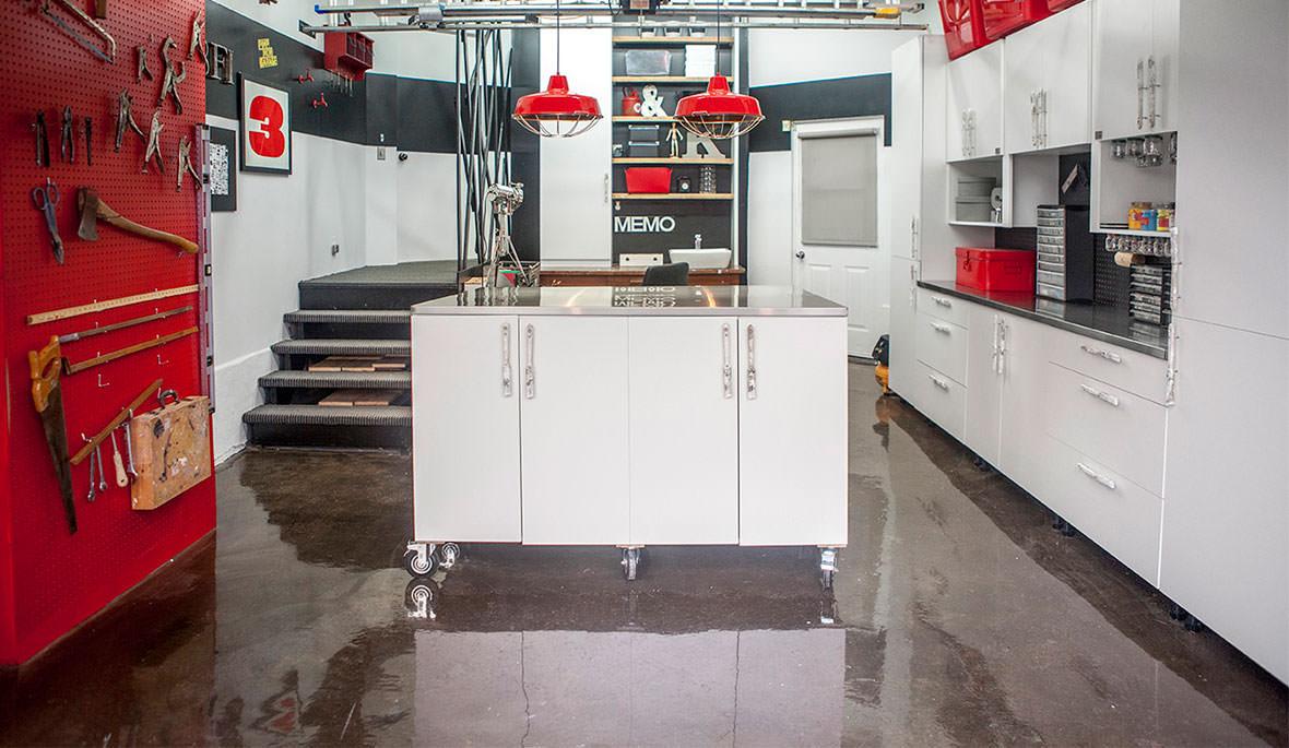 Plancher époxy garage